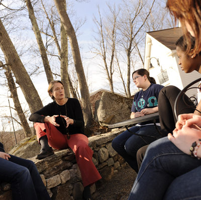 Outdoor classroom for liberal studies